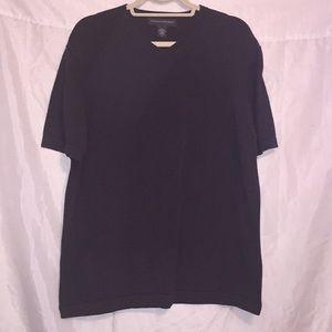 Banana Republic v-neck short sleeved sweater Sz L